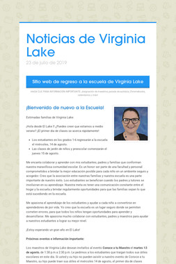 Noticias de Virginia Lake