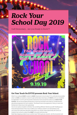 Rock Your School Day 2019