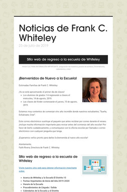 Noticias de Frank C. Whiteley