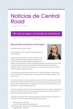 Noticias de Central Road
