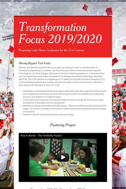 Transformation Focus 2019/2020