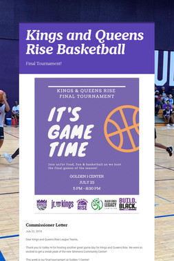 Kings and Queens Rise Basketball