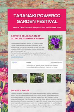 Taranaki Powerco Garden Festival