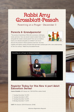 Rabbi Amy Grossblatt-Pessah