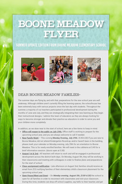 Boone Meadow Flyer
