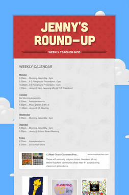Jenny's Round-Up