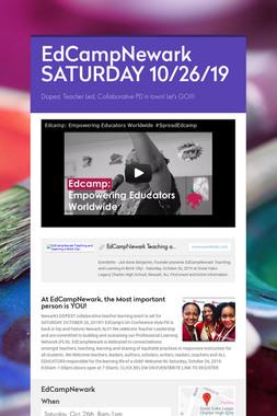 EdCampNewark SATURDAY 10/26/19