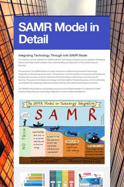 SAMR Model in Detail