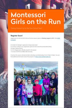 Montessori Girls on the Run