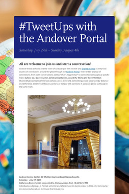 #TweetUps with the Andover Portal