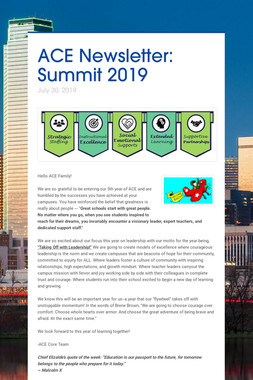 ACE Newsletter: Summit 2019