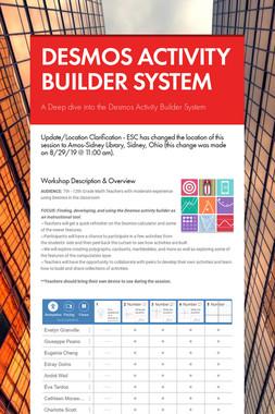 DESMOS ACTIVITY BUILDER SYSTEM