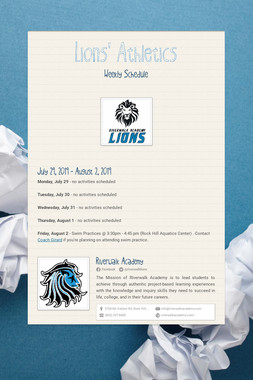 Lions' Athletics