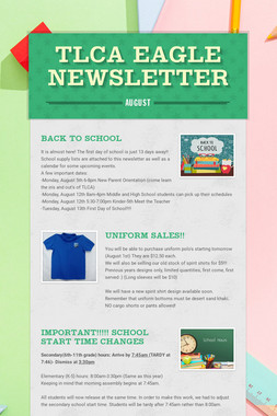 TLCA Eagle Newsletter