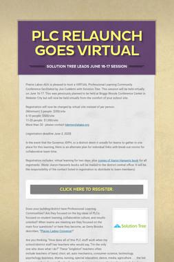 PLC Relaunch Goes Virtual
