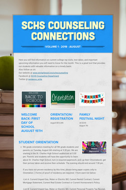 SCHS Counseling Connections