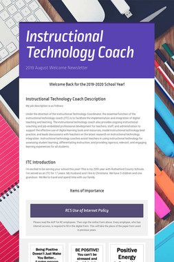 Instructional Technology Coach