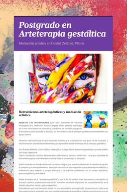 Postgrado en Arteterapia gestáltica