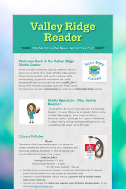 Valley Ridge Reader
