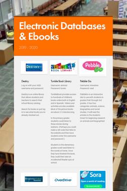 Electronic Databases & Ebooks