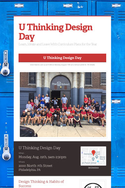 U Thinking Design Day