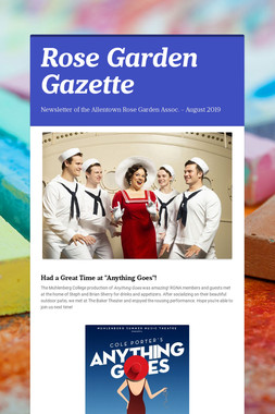 Rose Garden Gazette