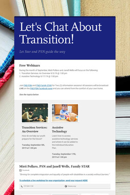 Let's Chat About Transition!