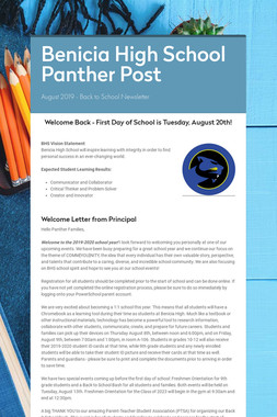 Benicia High School Panther Post