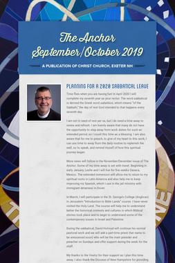 The Anchor September/October 2019
