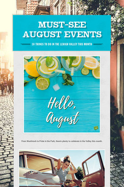 Must-See August Events