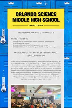 Orlando Science Middle High School