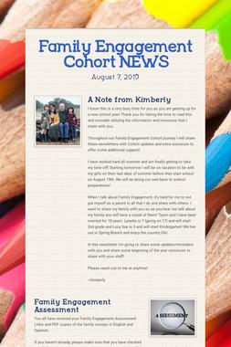 Family Engagement Cohort NEWS