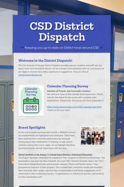 CSD District Dispatch