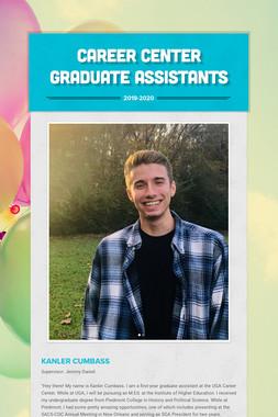 Career Center Graduate Assistants