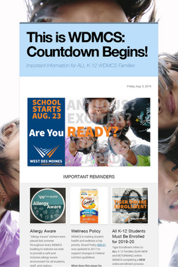 This is WDMCS: Countdown Begins!