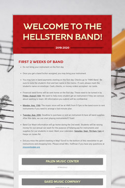Welcome to the Hellstern Band!