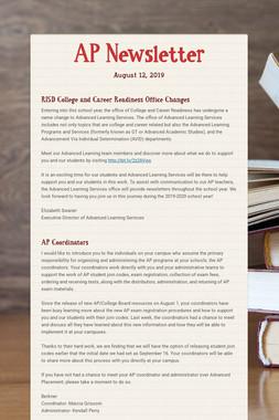 AP Newsletter