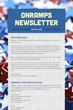 OnRamps Newsletter