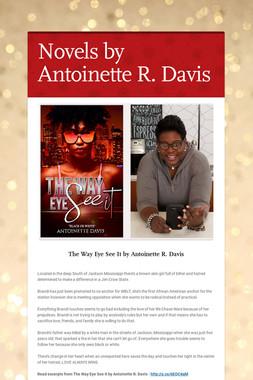 Novels by Antoinette R. Davis