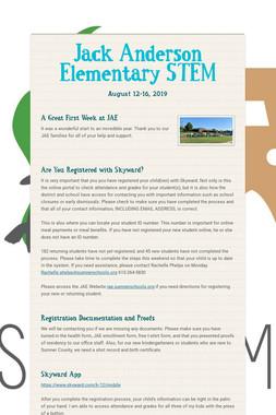 Jack Anderson Elementary STEM
