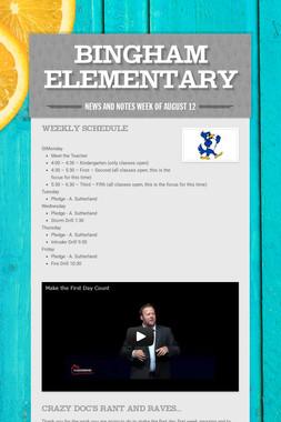 Bingham Elementary