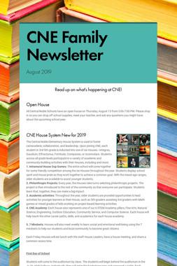 CNE Family Newsletter
