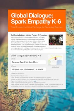 Global Dialogue: Spark Empathy K-6