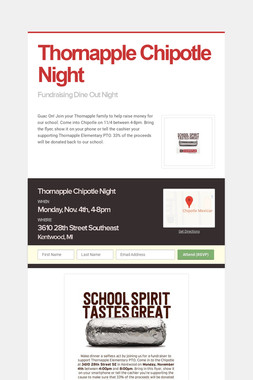 Thornapple Chipotle Night
