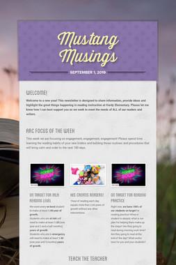 Mustang Musings