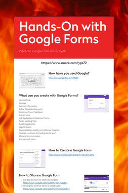 Hands-On with Google Forms