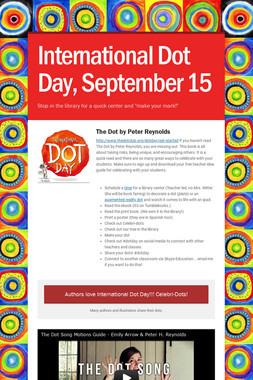 International Dot Day, September 15