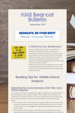 HMS Bearcat Bulletin