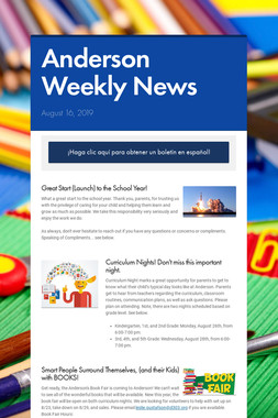 Anderson Weekly News