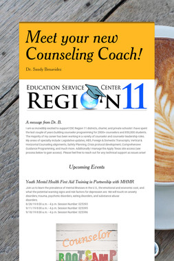 Meet your new Counseling Coach!